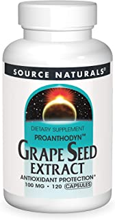 Source Naturals - Grape Seed Extract Proanthodyn 100 Mg. 120 Capsules
