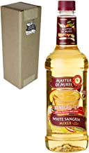 Master of Mixes White Sangria Drink Mix, Ready To Use, 1 Liter Bottle (33.8 Fl Oz), Individually Boxed