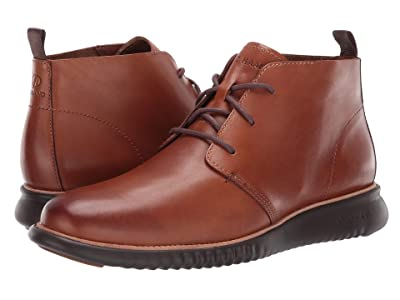 Cole Haan 2.Zerogrand Chukka (British Tan Leather/Java) Men