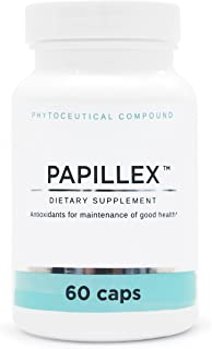 Dietary Supplement Tablets by PapillexTM | Naturally Respond to HPV | Human Papillomavirus | 60 Capsule Bottle (Single Pack)