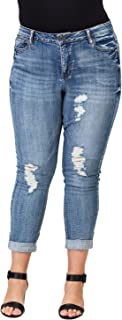 Women's Plus-Size Relaxed Fit Jeans