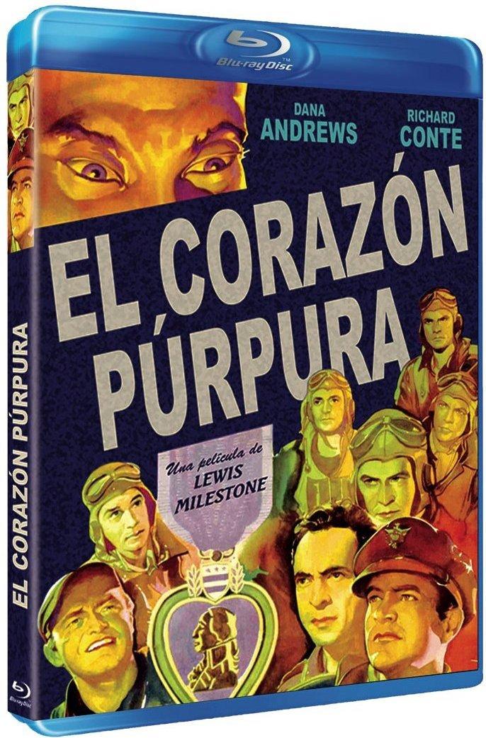 The Purple Max 89% OFF Heart 1944 Blu-Ray Reg.A Spain C Import B - New product