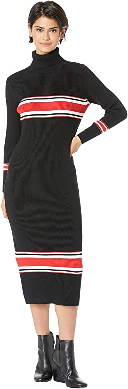 9cc6fbcd58 29. Free People. Sport Stripe Midi Dress