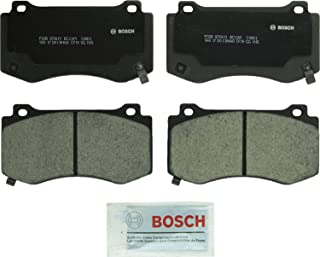 Bosch BC1149 QuietCast Premium Ceramic Disc Brake Pad Set For Chrysler: Select 2005-14 300; Dodge: 2008-14 Challenger, 2006-16 Charger, 2006-08 Magnum; Jeep: 2006-10 Grand Cherokee; Front