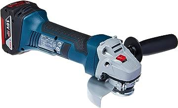 Bosch 060193A3E3-000, Esmerilhadeira Angular a Bateria de 18V, Azul
