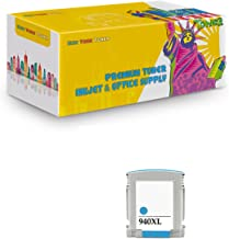 New York TonerTM New Compatible 1 Pack C4907AN 940 XL High Yield Inkjet For HP OfficeJet Pro : OfficeJet Pro 8000 | OfficeJet Pro 8500 | OfficeJet Pro 8500a . -- Cyan