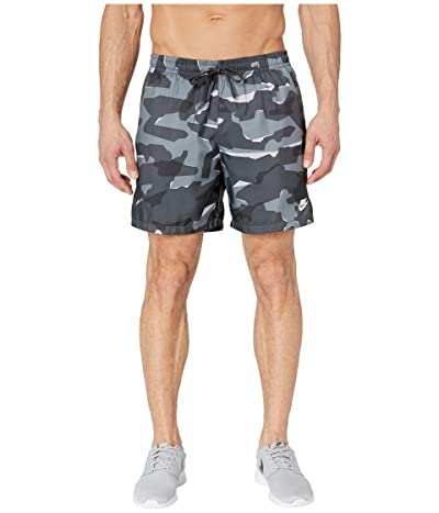 Nike NSW Camo Shorts Woven (Cool Grey/Anthracite/White) Men