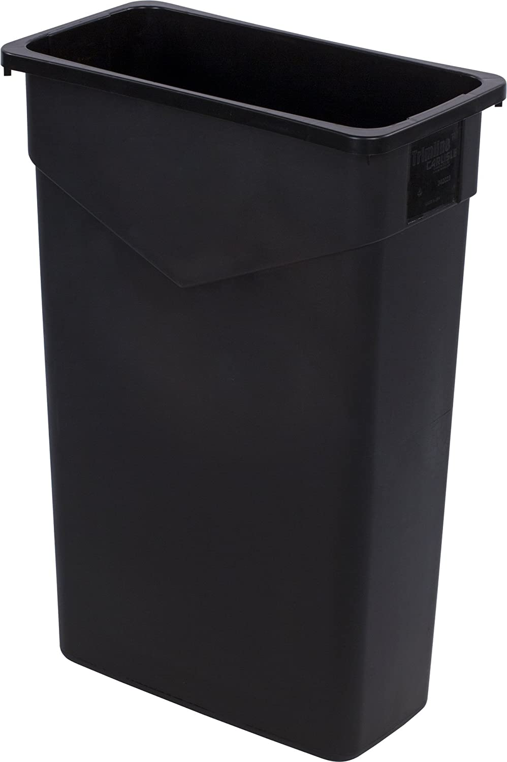 Carlisle 34202303 TrimLine Excellent Rectangle Waste Recommendation Container O Trash Can