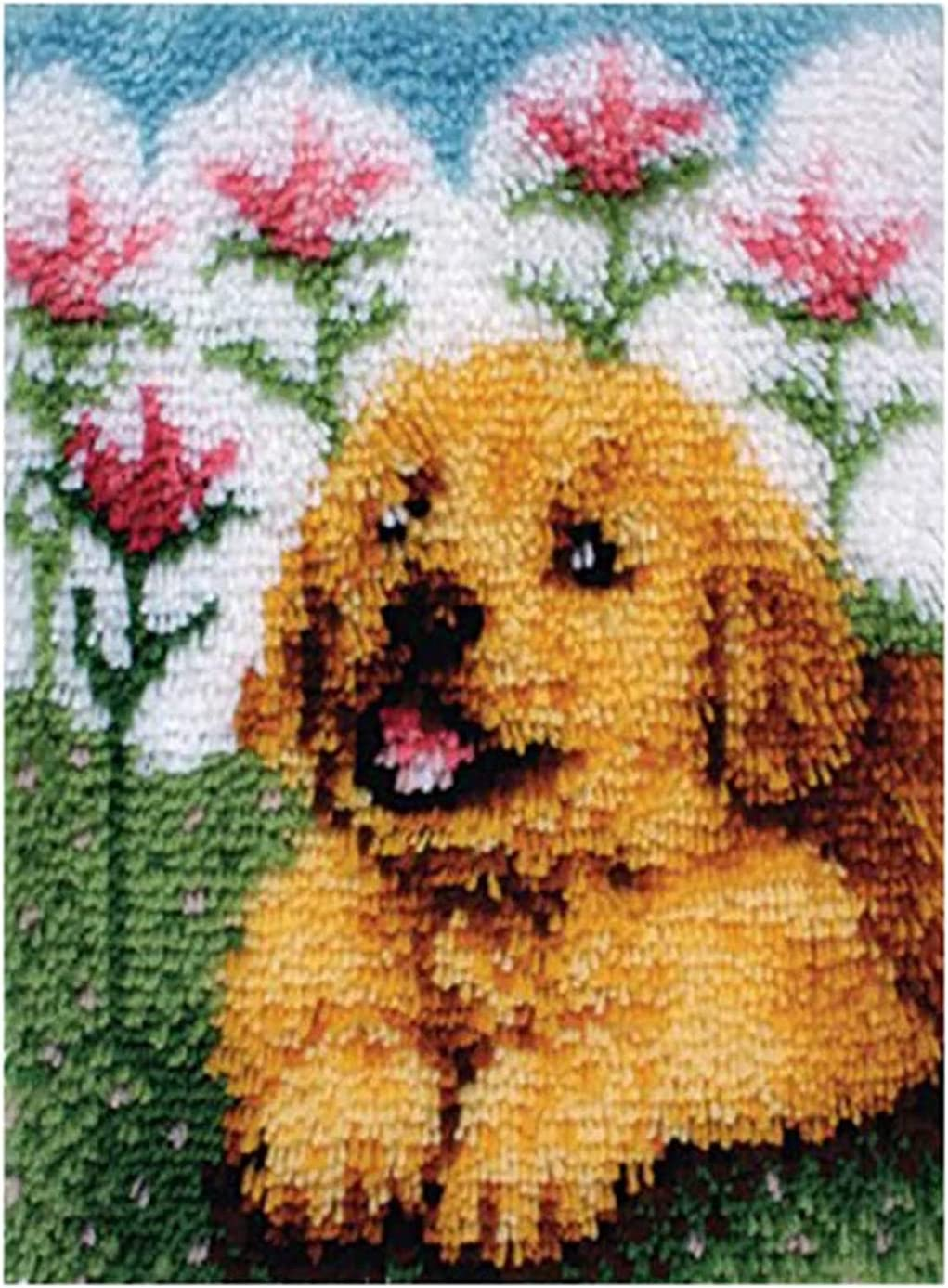 SDFA Latch Hook Rug Kits NEW before selling ☆ Cushion Embroidery DIY Columbus Mall Carpet Making