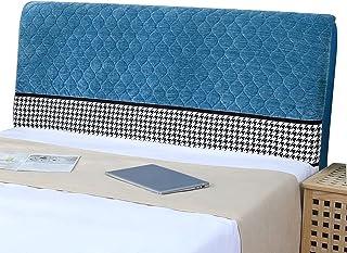 HDGZ Funda Protectora De Cabecera De Cama Protectora De Cabeceros De Cama Elástica Protector Cubierto A Prueba De Polvo Cover para La Decoración del Dormitorio (Color : Light Blue, Size : 220cm)
