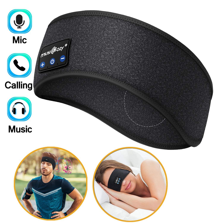 Headphones Bluetooth Washable Sleeping Wireless