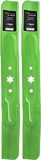 8TEN LawnRAZOR Blade Set for 42 Inch Deck Cub Cadet RZT 42 MTD LT2000 942-04308 742-04308 742-04312 Hi-Lift