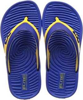 FLITE Unisex Kid's R. Blue Yellow Slippers-12 UK (30.5 EU) (FL0K51U_RBYL0012)