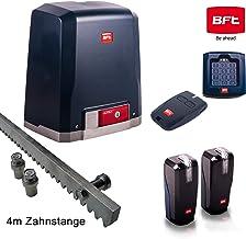 BFT DEIMOS-Ultra-Kit 400 - Sistema de accionamiento para puertas correderas (incluye candado, emisor manual, armario de luz, barra de 4 m)