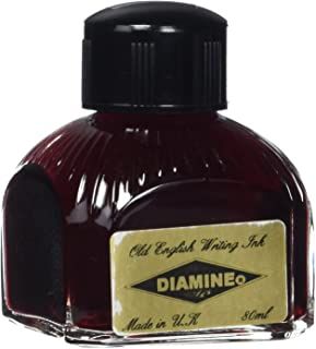Diamine Fountain Pen Ink, 80 ml Bottle, Orange