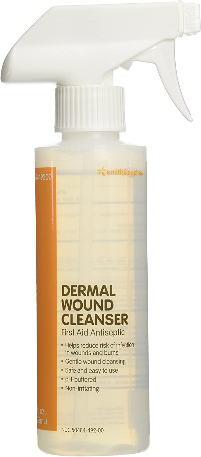 We OFFer at cheap prices National uniform free shipping Dermal Wound Skin Cleanser 8 fl 1 Qty: Spray Bottle oz