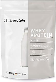 Whey Protein – Neutral 1 kg – Hergestellt in Deutschland aus regionaler Milch..