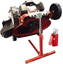 COPACHI Riding Lawn Moweer Lift, 110lb Lifting Capacity, Garden High Duty Holder for Push Mower Lawn,Portable Mower Jack Lift Stand for Mower Maintenance or Repair, Adjustable Height