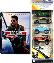Mini Moment Jets & Cars Top Gun Tom Cruise Action + Maverick Matchbox 5-Pack Collectible + Feature Film