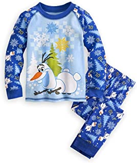 Store Frozen Olaf Boy 2 PC Pajama Set (6)