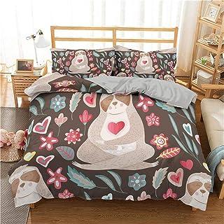 Gvvseso® Tessili per la casa 3D Super King Size 240x260cm Set di Biancheria da Letto Stampata Copripiumino per Bambini in ...
