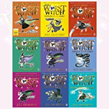 The Worst Witch Mega 9 Books Complete Collection Set By Jill Murphy (The Worst Witch, Strikes Again, All At Sea, Saves The Day, To The Rescue, Wishing Star & First Prize)