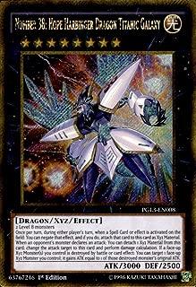 Yu-Gi-Oh!! - Number 38: Hope Harbinger Dragon Titanic Galaxy (PGL3-EN008) - Premium Gold: Infinite Gold - 1st Edition - Gold Secret Rare