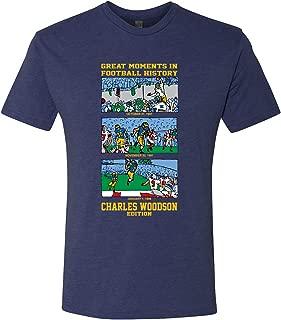 Charles Woodson Football History - Michigan Triblend T Shirt