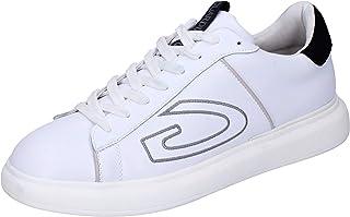 GUARDIANI Sneaker Uomo Pelle Bianco