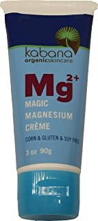 Magic Magnesium Cream | Restless Legs | Pain Management | Muscle Relaxation | Soy & Corn & Gluten & Fragrance Free | Organ...