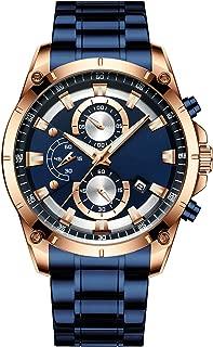 Quartz Watch with Full Steel Military Sport Wrist Digital...