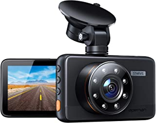 APEMAN Dash Cam with IR Night Vision, FHD 1080P Dash Camera for Cars, Sony IMX 307 Sensor, Support GPS, 3 inch IPS Screen,...