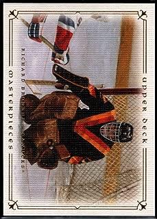 Hockey NHL 2008-09 Upper Deck Masterpieces #9 Richard Brodeur Canucks