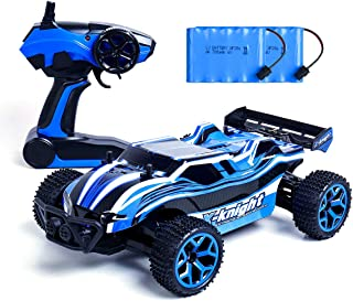 Remote Control Cars, 4WD RC Car 1/18 Scale 2.4Ghz High Speed Racing Toy Cars, Electronic Off Road Drift Car with 2 Rechargeable Batteries,Remote Controlled Cars for Kids & Adults