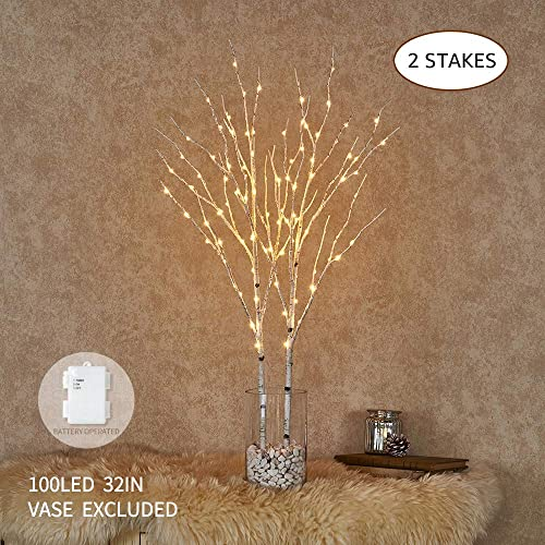 Branches Decoration For The Christmas Tree Amazon Com