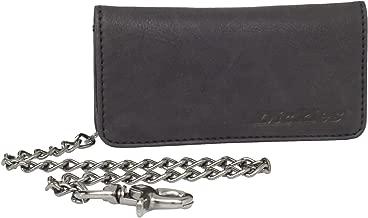Dickies Men's Leather Trucker Chain Wallet