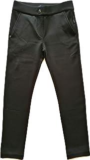 MONCLER 4673Z Pantalone Bimba Girl Black Trouser Pant