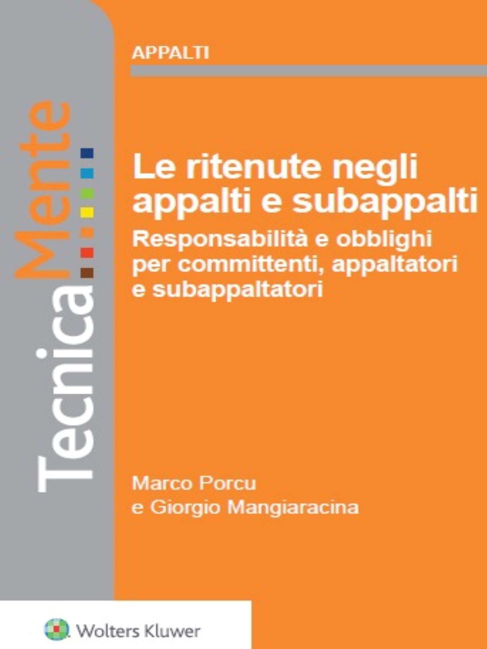 Le ritenute negli appalti e subappalti (Italian Edition)