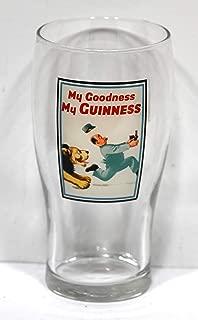Guinness Beer Glass, Pilsner Beer Glass 6.25