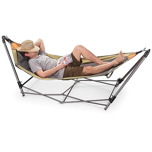 Portable Folding Hammock Amazon Com