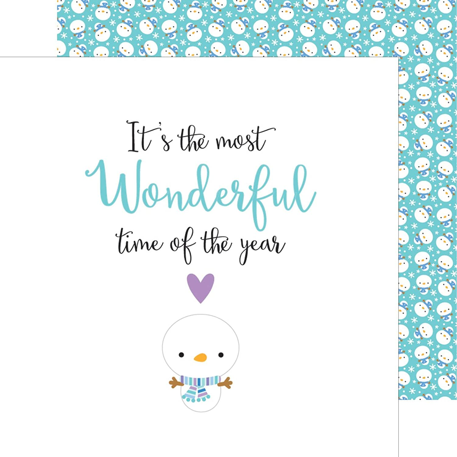Polar Pals Double-Sided Cardstock 12