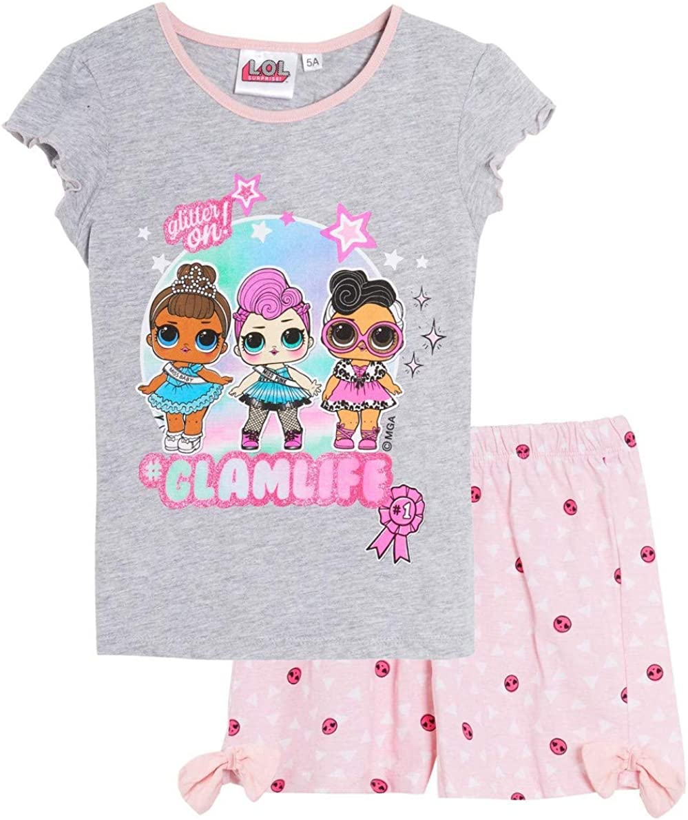 LOL Surprise - Pijama corto corto y camiseta para niña, color ...