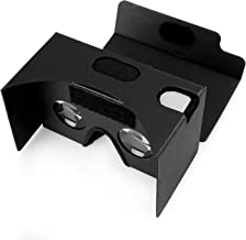 Google Cardboard Kit with Straps Pro 3D Virtual Reality Compatible with Android & Apple Easy Setup Instructions Machine