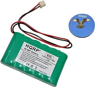 HQRP 2100mAh High Capacity Backup Battery Works with Ademco Honeywell LYNXR-2 Series, LYNXR-I, LYNXR-ISIA Security System + HQRP Coaster