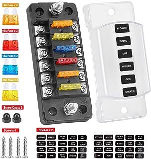 amazon.com: fuse boxes - fuses & accessories: automotive  amazon.com