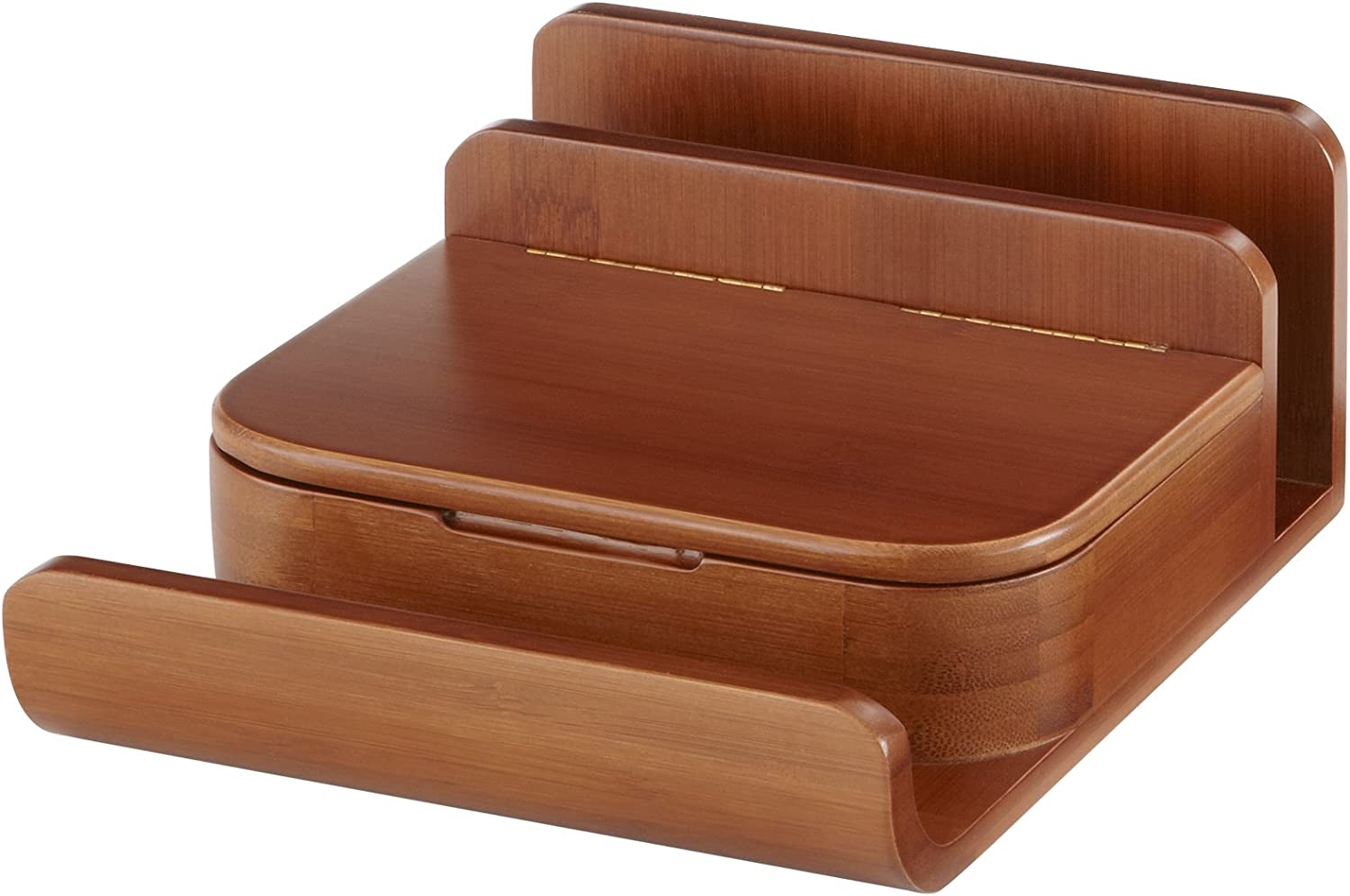 Safco Products Bamboo Small Organizer Cherry All items free shipping 3642CY Purchase Desktop