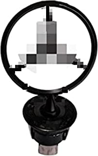 Stern Abzeichen Motorhaube Logo, Metall + Chrom Auto Fronthaube Verkleidung Emblem Chrom Adler Emblem 3D Logo für Me-RC-e...
