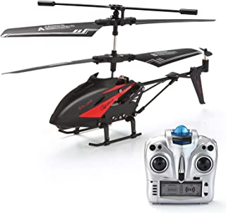 RC Helicopter, GoStock Remote Control Helicopter with Gyro and LED Light 3.5 Channels Alloy Mini Helicopter Micro RC Helicopter Toy for Kids & Adult Indoor and Outdoor