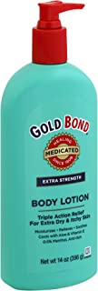 Gold Bond Body Lotion Medicated Extra Strength 14 oz (Pack of 4)