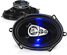 BOSS Audio Systems BE5768 Car Speakers - 300 Watts of Power Per Pair and 150 Watts Each, 5 x 7 Inch, Full Range, 3 Way, So...